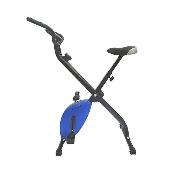 Kobo Blue Magnetic Exercise Bike/Exercise Cycle X-Bike (Folding) (Green)