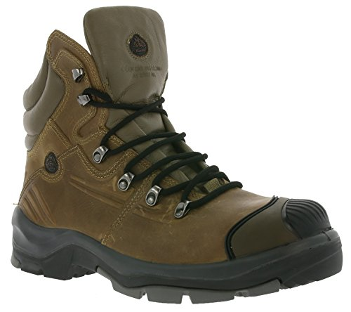 Preisvergleich Produktbild Bata Industrials Natural 2 Jano 2 S3 Schuhe Herren Sicherheitsschuhe Arbeitsschuhe Braun Model-3,  Größenauswahl:47