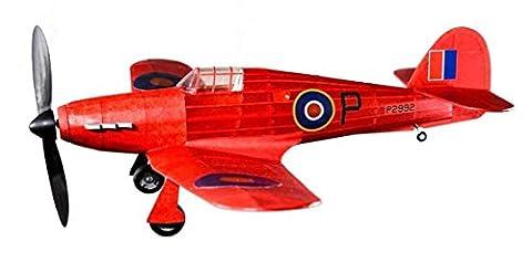 Hawker Hurricane Rubber powered Balsa Wood Aircraft Kit