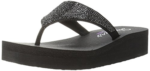 skechers-womens-diamonte-vinyasa-platform-flip-flop-black-black-size-6