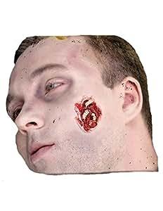 Set maquillage Cicatrice avec vers blancs