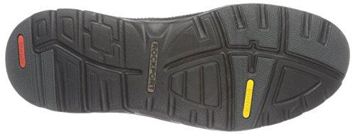 Rockport Activflex Rocsports Lite Ubal, Chaussures à Lacets Homme Noir - Noir