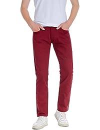 f83a6b7df42a Amazon.fr   Rouge - Jeans   Homme   Vêtements