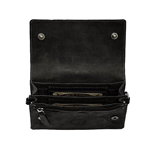 Jack's Inn 54 Riñonera deportiva, negro (negro) - LT54216-01