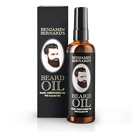 Bartöl - Beard Oil für Männer von Benjamin Bernard - Für gesundes Bartwachstum & einen gepflegten Stil - Leicht parfümiert, enthält Jojoba- & Mandelöl - Vegane Bartpflege - 100 ml