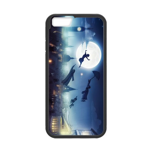 Custom Peter Pan Design Rubber PC and TPU Case Cover For iPhone 6, iPhone 6 Coque