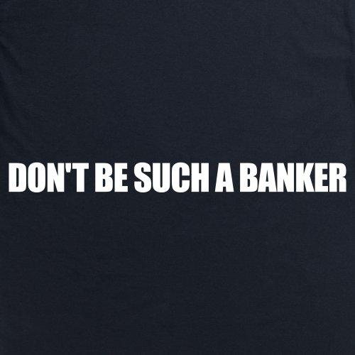 Square Mile Such a Banker T-shirt, Uomo Nero