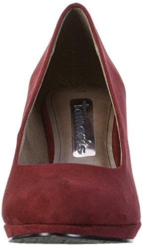 Tamaris 22420 - Scarpe con Tacco Donna Rosso (VINE 558)