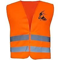Gilet de chasse réfléchissant orange Fluo, bécasse