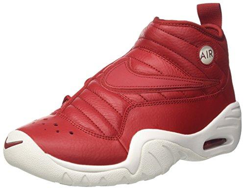 Nike Air Shake Ndestrukt, Zapatillas de Gimnasia para Hombre, Rojo Gym Red/Summit White/Port, 45.5 EU