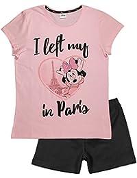 b8084a44c Minnie Disney Women s Ladies Teenager s PJs Pyjama Set Short Pajama