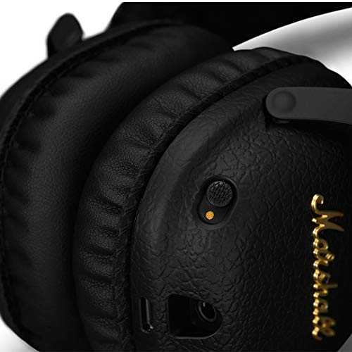 Marshall Mid ANC 04092138 Active Noise Cancelling On-Ear Wireless Bluetooth Headphone (Black) Image 4