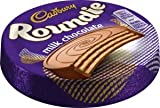 NEW Cadbury Roundie Milk Chocolate Wafer Biscuits (30g x 30)