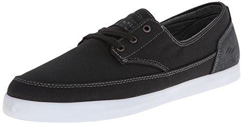 Emerica The Troubadour Low, Chaussures de skateboard homme Gris - Dark Grey/White