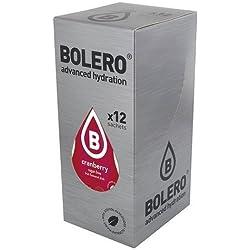 Paquete de 12 sobres bebida Bolero sabor Arándano