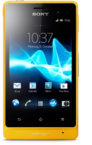 Sony Xperia go Smartphone (8,9 cm (3,5 Zoll) Touchscreen, 5 Megapixel Kamera, Android 2.3) gelb Sony Outdoor Kamera