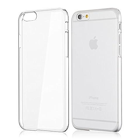 kwmobile Superbe étui rigide transparent ultra-fin très chic pour Apple