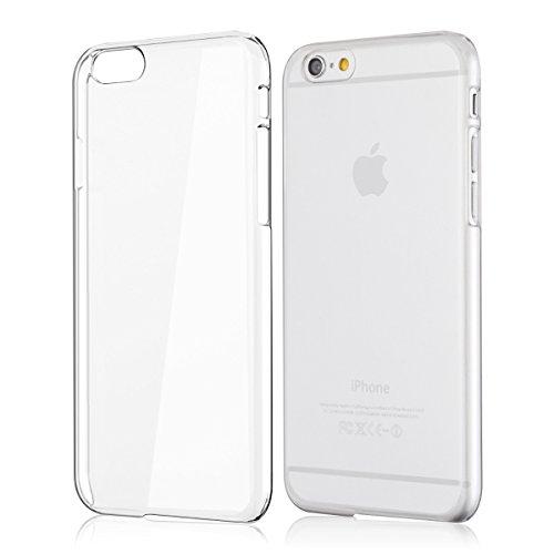 kwmobile Crystal Hülle für Apple iPhone 6/6S Hard Case - dünne durchsichtige transparente Schutzhülle Cover klar in Transparent (Iphone Hard Back)