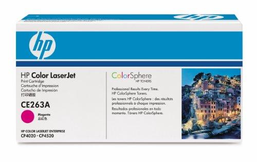 HP CE263A - Toner cartridge - 1 x magenta