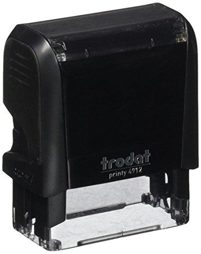Trodat Textdruckmaschine 4912 Printy 4.0, Schwarzgrau
