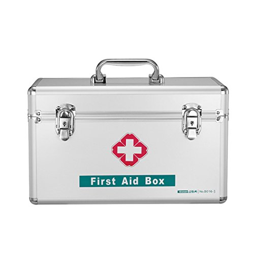 MMM Medicine Box Family Medicine Box Accueil Small First Box Medical Aid Box Out Of The Box Grande Aluminium Medicine Chest ( taille : S )
