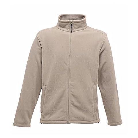 Regatta Herren Mikrofleece-Jacke mit durchgehendem Reißverschluss (4XL) (Stahl)