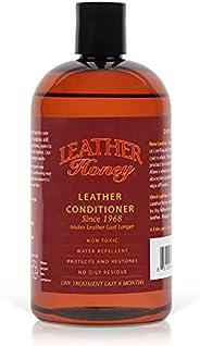 Leather Honey Leer Conditioner, de Beste Leer Conditioner sinds 1968, in een 473 ml Fles. Voor Gebruik op Lere