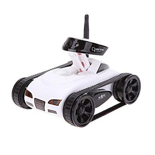 SODIAL Camara de WiFi i-Spy RC de Tanque / Coche Happy Cow777-270 w / 30W Camara para iPhone Controlador