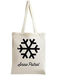 Snow Patrol Logo Tragetasche Tote Bag Shoulder Messenger Shopping Gym Leisure Bags By Genuine Fan Merchandise