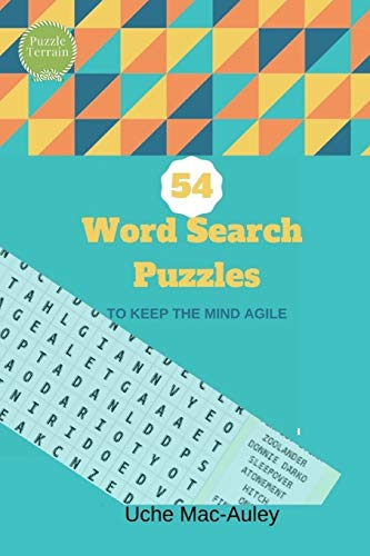 54 Word Search Puzzles por Uche Mac-Auley