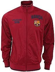 FC Barcelona - Sudadera oficial del FC Barcelona con escudo en el pecho - Premier League/Fútbol