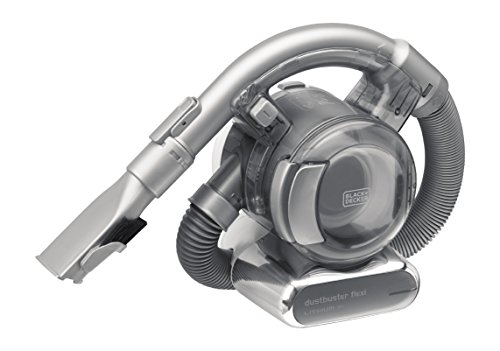 dustbuster black decker Black+Decker Lithium Dustbuster Flexi PD1820L – 18V Akku Handstaubsauger mit flexiblem Saugschlauch – Beutel- und kabellos – 1 x Staubsauger inkl. Ladestation und 2-in-1 Fugendüse