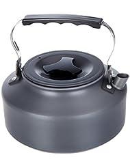 1.1L Portátil Ultraligero de Agua Vasija con Asa para Acampar Cafetera Hervidor de Agua de la Tetera
