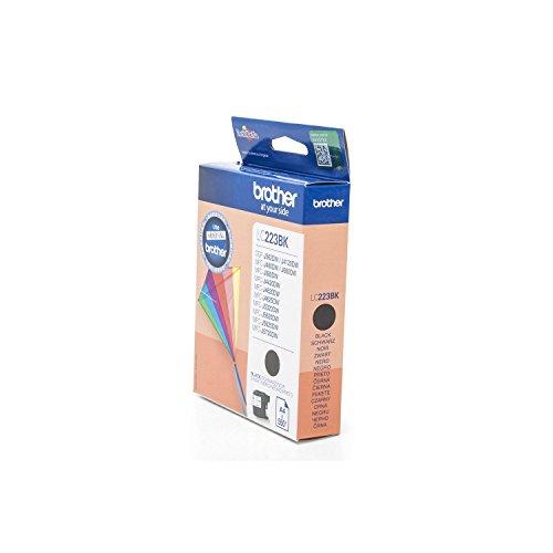 Preisvergleich Produktbild Original Tinte Brother LC-223BK - 1 Tinten-Patrone - Schwarz - 550 Seiten - 11,80 ml