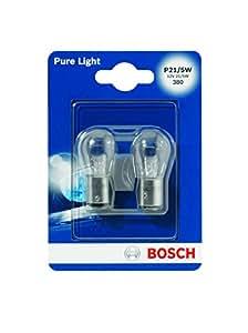 Bosch 684152 Pure Light 2 Ampoules P21 / 5W 12 V 21 / 5W