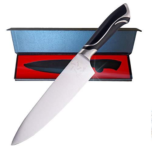 BbfStyle - Kochmesser 8' (20 cm) - Berufsmesser - Küchenmesser aus Edelstahl - Handgriff Entwurf