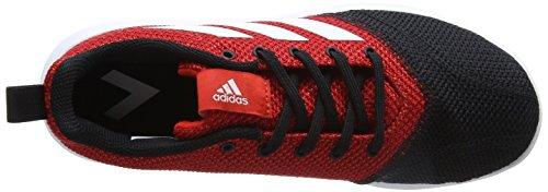 adidas Ace 17.4 Tr, Chaussures de Football Mixte Enfant Rouge (Red/ftwr White/core Black)