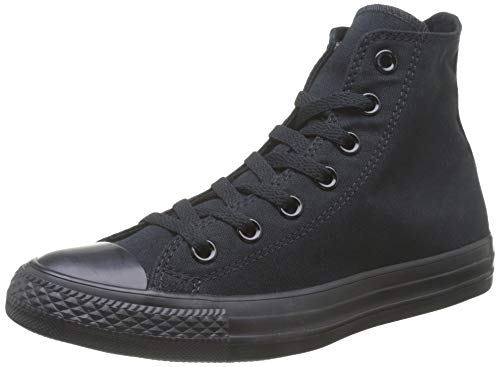 Converse Unisex CTAS SEASONAL-HI-WHITE MONOCHROME-UNISEX-15470 Hohe Sneaker,Schwarz (Black Mono), 46.5