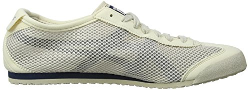 Onistuka Tiger Mexico 66, Chaussures Multisport Outdoor Mixte adulte Blanc / Marine (Off 250)
