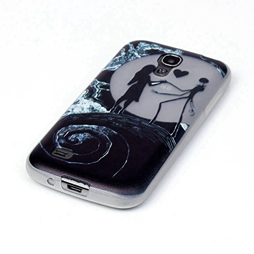 iPhone 6S Custodia, iPhone 6 Cover, Felfy Fantasy Divertenti Colorate la Pittura con Notte Luminoso Trasparente Clear TPU Gel Silicone Protettivo Skin Custodia Protettiva Shell Case Cover per Apple iP Amante