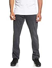 026ed46b2a448f Quiksilver Revolver Smoked Wax - Straight Fit Jeans for Men EQYDP03378
