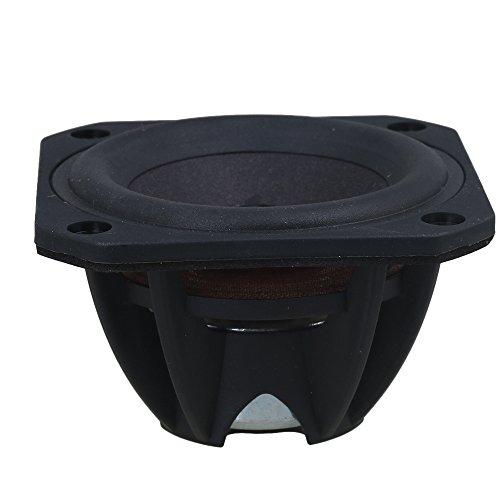 BQLZR 3 Zoll Schwarz Kunststoff & Magnet 03N025R08 10 Watt 4 Ohm Auto Lautsprecher Auto Horn ?nderung High Power Lautsprecher Set (Hörner Lautsprecher Für Autos)