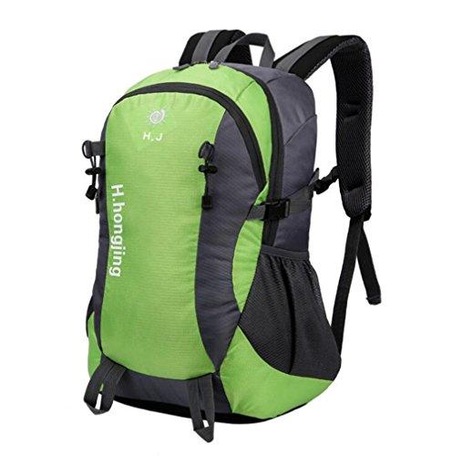 Wmshpeds Borsa a tracolla donne all'aperto alpinismo borsa grande borsa da viaggio zaino Computer C