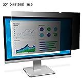 yummyfood Pellicola Antiriflesso di Sicurezza, Monitor da 17-20 Pollici Schermo Desktop Universale Pellicola Protettiva per Schermo LCD-Filtro Universale per La Privacy PC 17 19 20