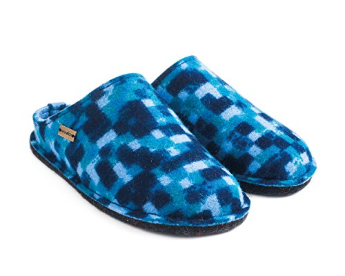 Haflinger Flair Pp23, Chaussons Mules mixte adulte Bleu
