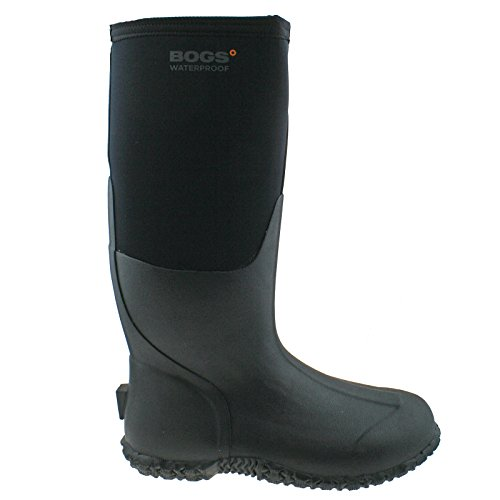 LADIES BOGS CARVER TALL BLACK INSULATED WARM WATERPROOF WELLIES BOOT 78449-UK 9 (EU 43)