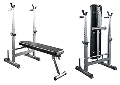 UK Fitness Weight Bench Folding & Adjustable Flat & Incline with Dip Station from UK Fitness