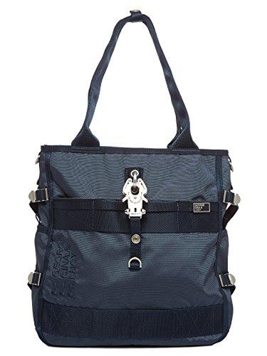 George Gina & Lucy Magic Maki Borsa tote Shopper 34 cm Blue