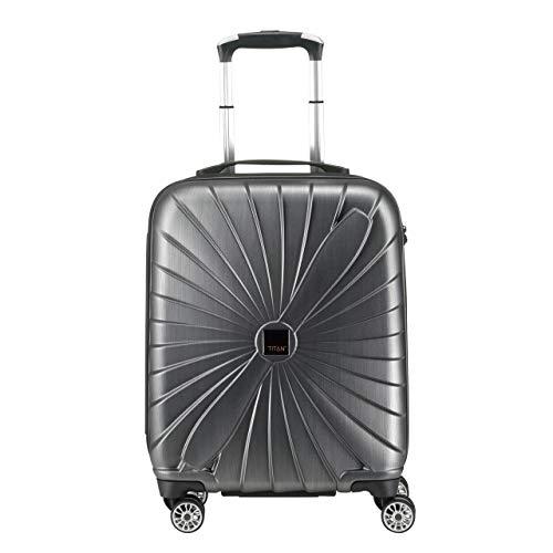 Titan Triport Gr. S inkl. kleine Kulturtasche Handgepäck oder Koffer mit 4 Doppelr...