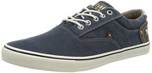 Mustang Herren 4101-301 Sneaker, Blau (800 dunkelblau), 43 EU